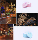 The Christmas city — Stock Photo