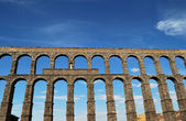 Aqueduct of Segovia. — Stock Photo