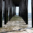 Fishing Pier Splash II - Stock Photo