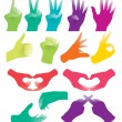 Hand Sign — Stock Vector