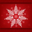 Royalty-Free Stock Vector Image: Snowflakes Christmas Ornament