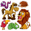 Stock Vector: Animals Collection