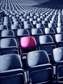 Unique Stadium Seat — Stock Photo