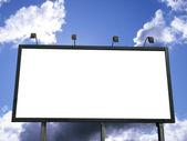 Billboard Blank — Stock Photo