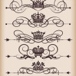 Royalty-Free Stock Vector Image: Decorative elements. Vintage