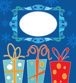 Jul. ram färg — Stockvektor