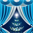 Royalty-Free Stock ベクターイメージ: Christmas Background. Illustration.
