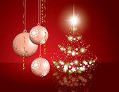 Christmas Background. Illustration. — Stock Vector