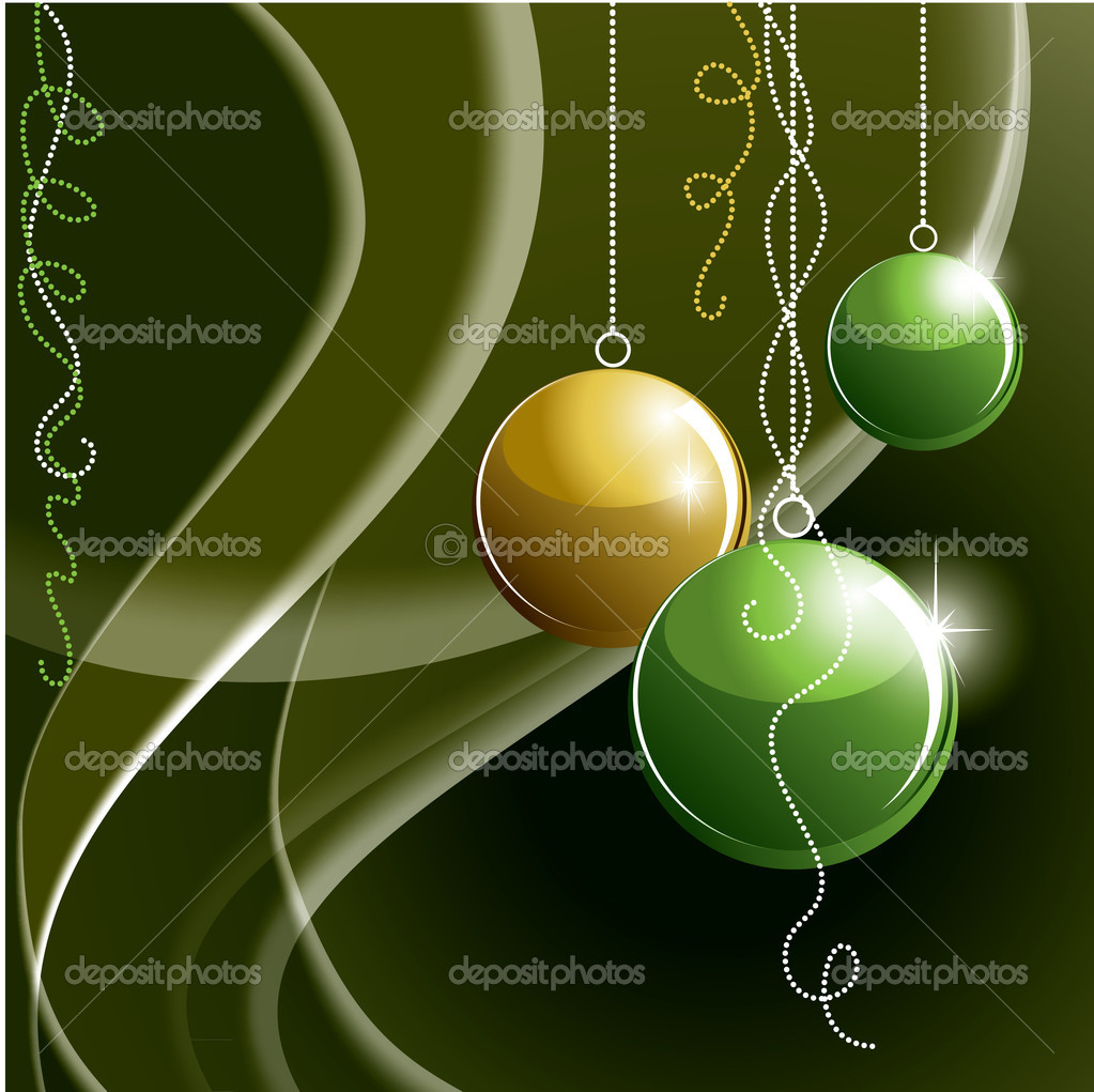 Christmas Background. Illustration.  Stock Vector #7521488