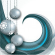Christmas Background. Vector Illustration. — Imagen vectorial