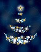 Christmas Background. Vector Illustration. — Stock Vector