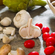 garlic — Stock Photo