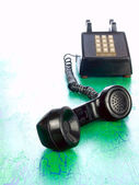 Grunge phone from around 1970 — Stock Photo