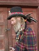 Eccentric older gentleman — Stock Photo