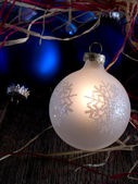 Brillantes adornos de navidad — Foto de Stock
