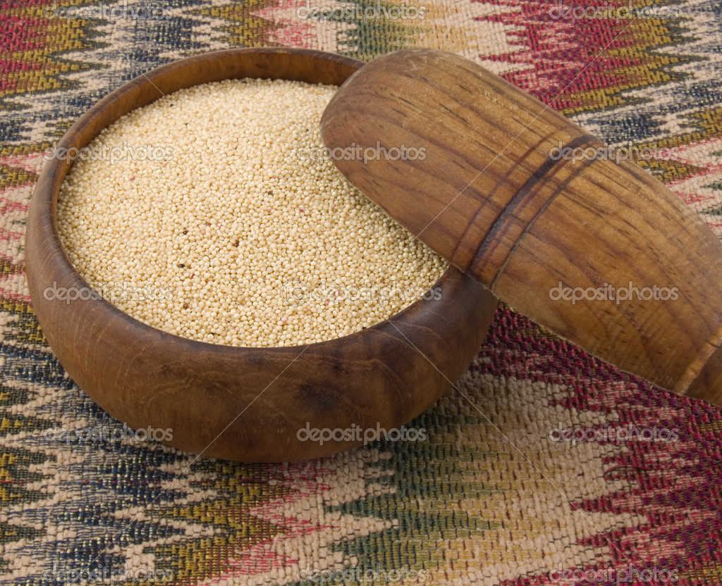 Amaranth, gluten-free, high protein grain cereal. Amaranthus, approximately 60 species are currently recognized. — Stock Photo #7487269