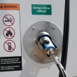 Stock Photo: Hydrogen fueling dispenser for vehicles