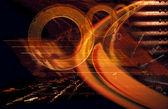 Orange abstract — Stock Photo