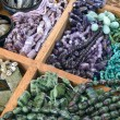 Semi precious gemstone beads — Foto de Stock
