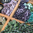 Stock Photo: Semi precious gemstone beads