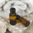 Stock Photo: Essential oils, aromatherapy