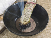 Smudge stick — Stock Photo