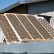 Old solar panel from 1970's — Stock Photo #7524315