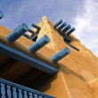 Southwestern architectural detail — Stock Photo #7524325