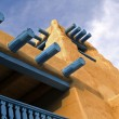 Southwestern architectural detail - Stock Photo
