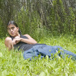 Modern day Native American teenage boy — Stockfoto #7524579