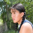 Foto de Stock  : Handsome Native American teenage boy