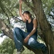 Native american Teenager — Stockfoto