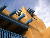 Southwestern architectural detail — Stock Photo