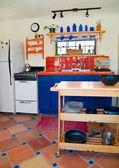Cute little kitchen — Stock Photo