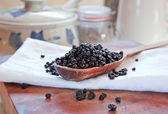 Dried blueberries — Stock Photo