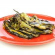 Roasted chili peppers — Stock Photo #7553452