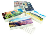 New postcards — Stock Photo