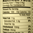 High fat content food label — Stock Photo #7624493