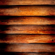 Stock Photo: Old log cabin wood wall background