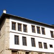 Стоковое фото: Sunshine stone traditional house at Kastori(Makedonia, Greece)