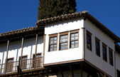 Detail of traditional old house at Kastoria (Makedonia, Greece) — Stock fotografie