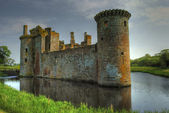 Caeverlock Castle — Stock Photo