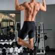 Gym training - Foto Stock