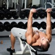 Gym training - Stock Photo