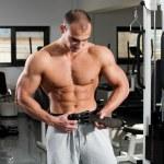 Gym training — Stock Photo #7575131