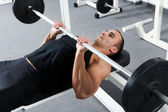 Gym training — Stock Photo