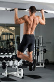 Gym training — Foto Stock