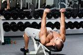 Gym träning — Stockfoto