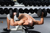 Fitness-training — Stockfoto
