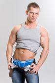 Muscular man — Стоковое фото